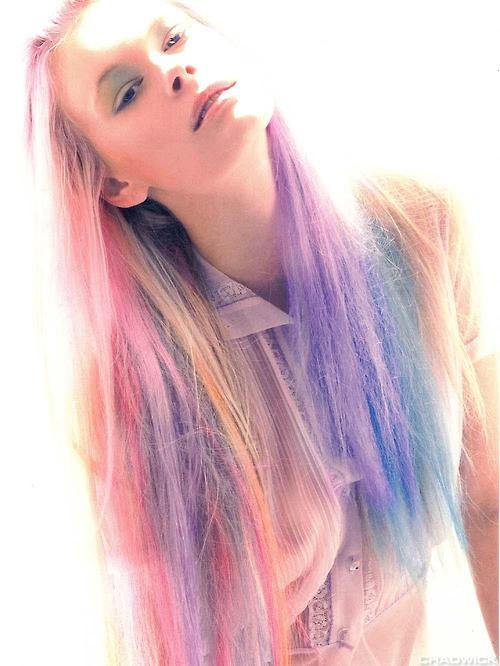 multi colored ombre hair claireverity